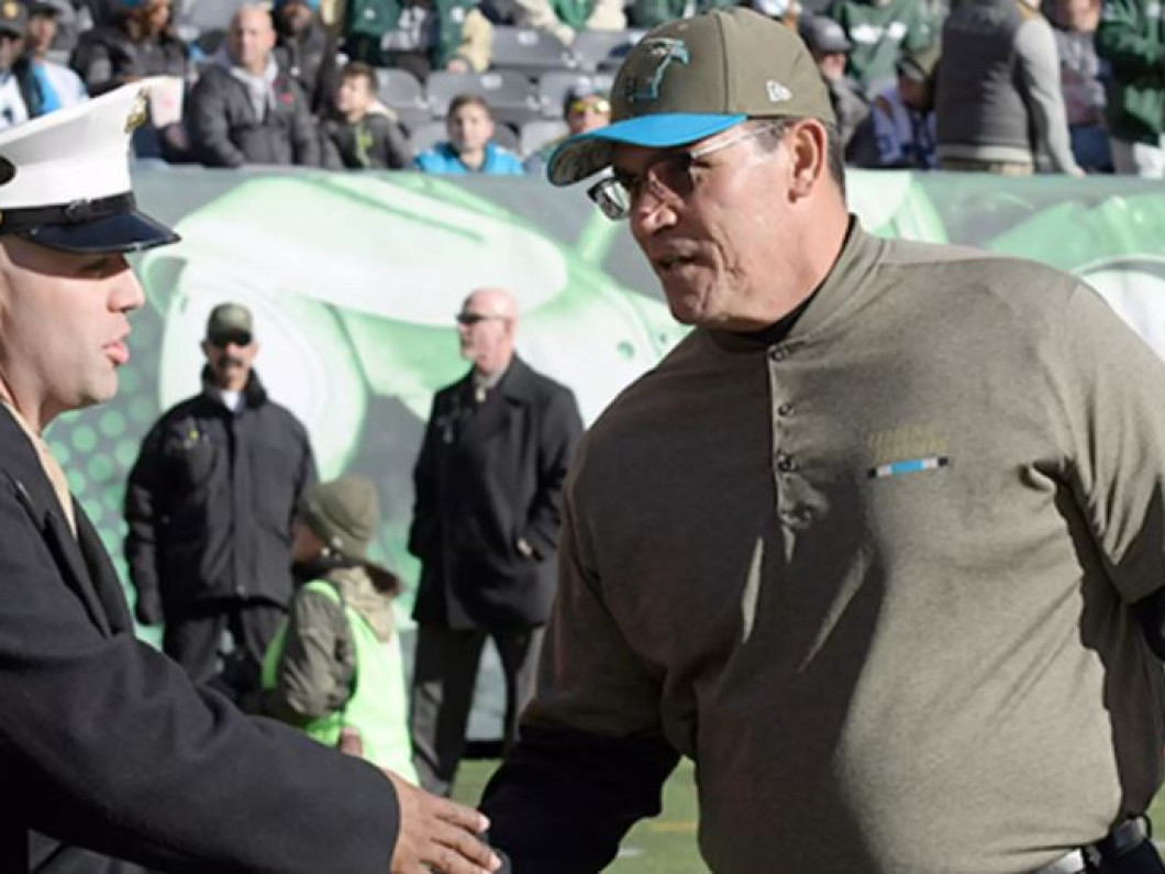 Ron Rivera named Salute to Service finalist